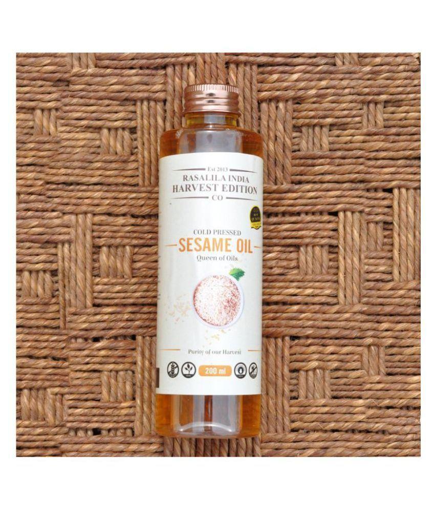 Rasalila Virgin Sesame Oil 200 mL