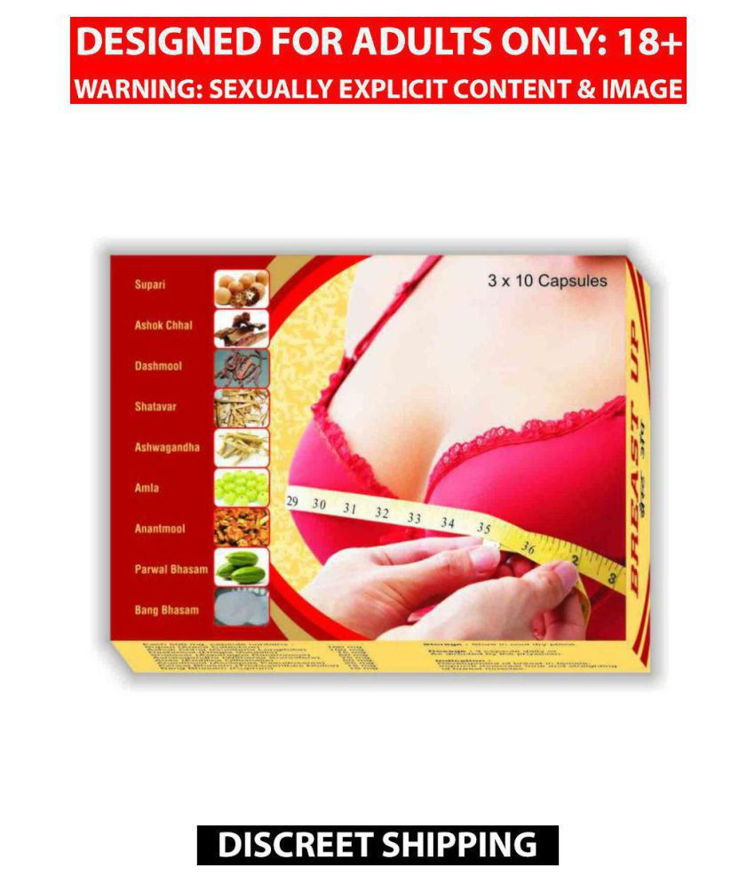 Cackle's Breast Up Capsule For Women, Pack of 30 x 4 = 120 no.s, 100% Ayurvedic Product