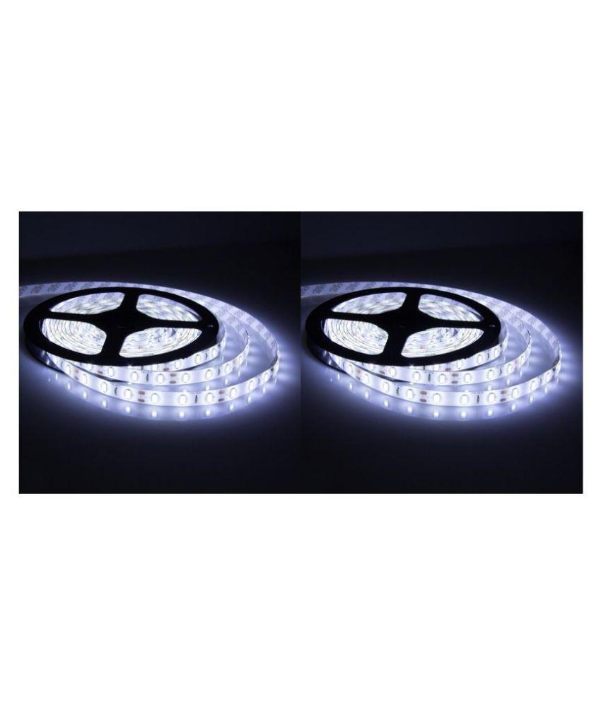 D'Mak White LED Strip Light 5 Meter - Pack of 2