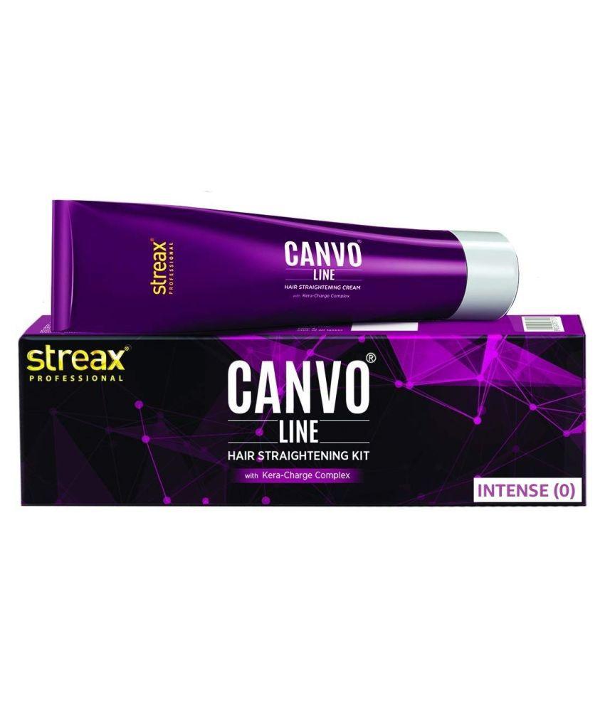 Streax Professional Canvoline Straightening Cream intense (0) 80g
