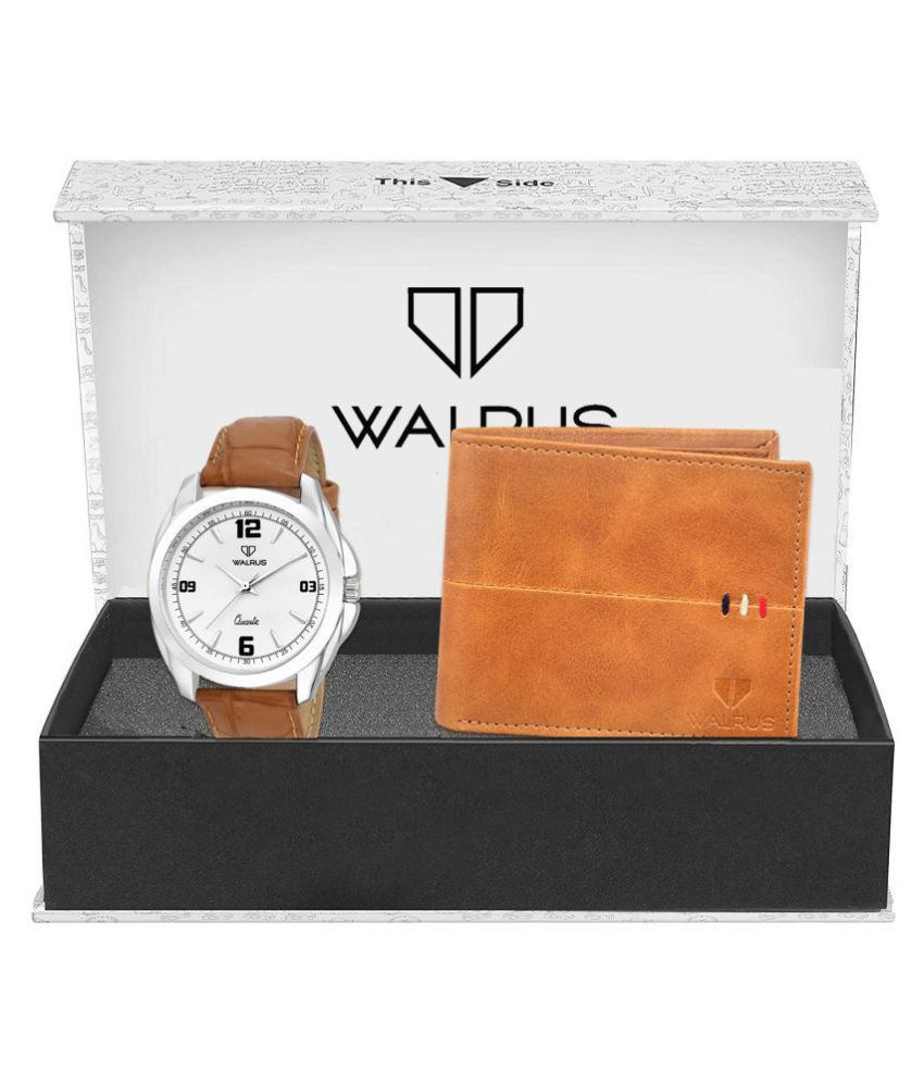 Walrus WWWC COMBO13 Leather Analog Men #039;s Watch