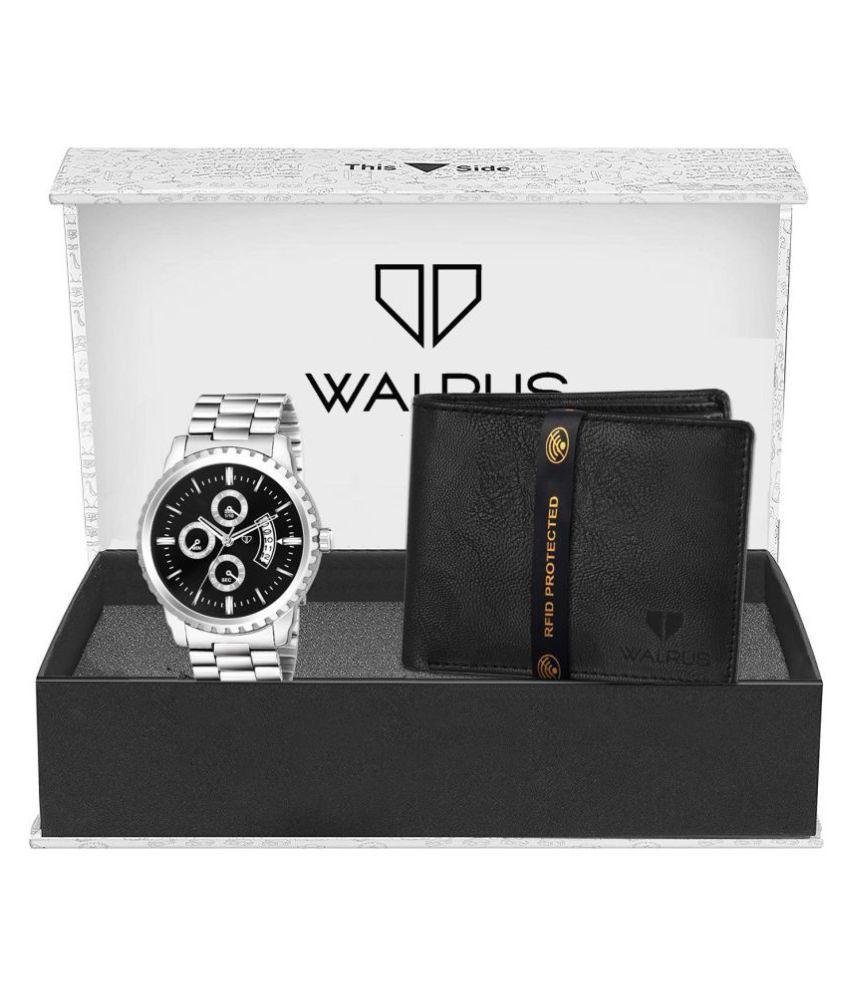 Walrus WWWC COMBO82 Stainless Steel Analog Men #039;s Watch