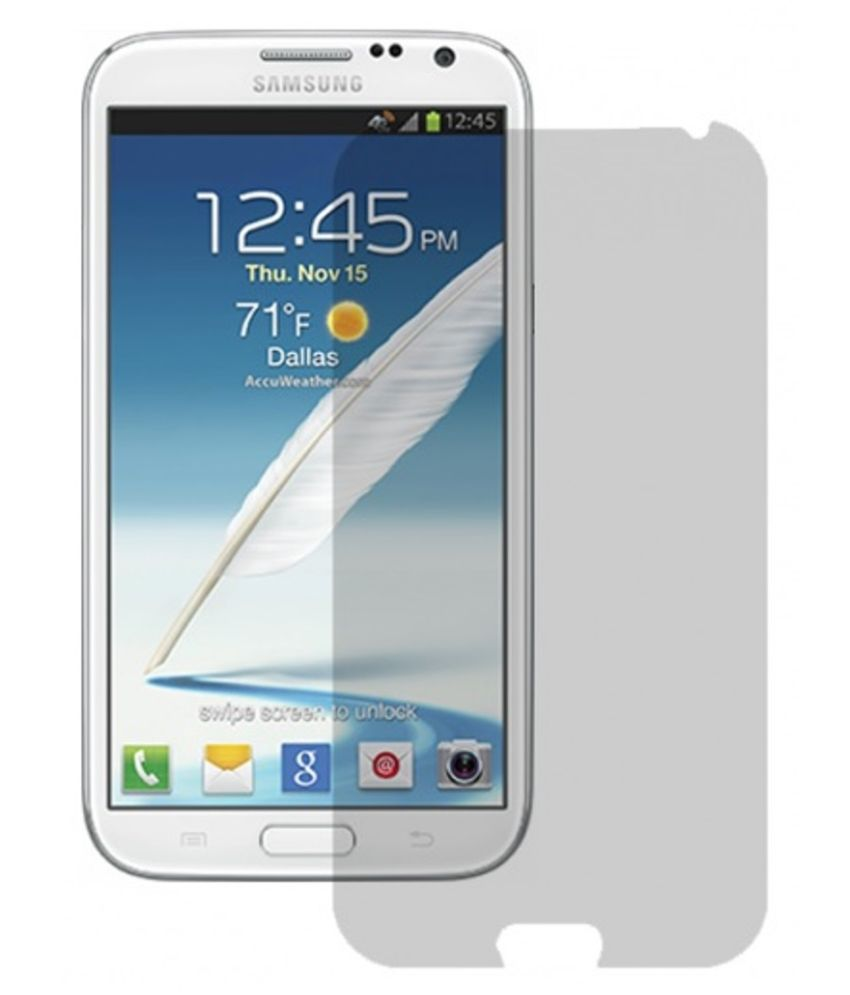 Samsung Galaxy Note 2 Clear Screen Guard By Nainaan Tempting Free Offer