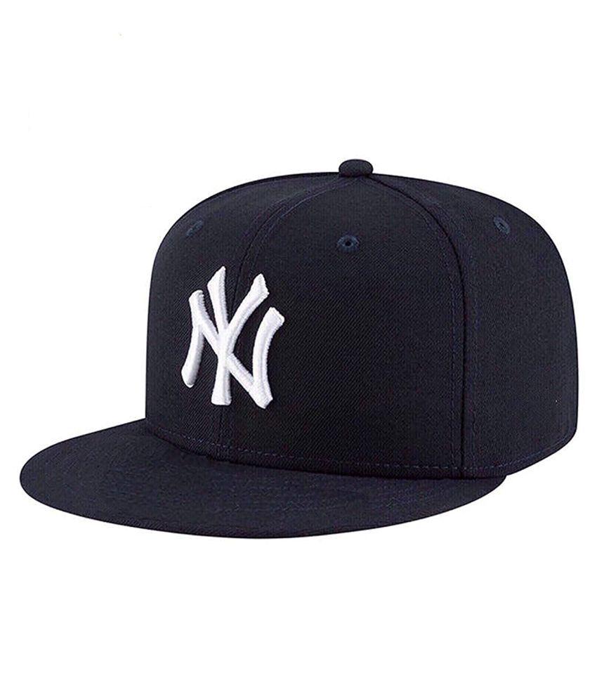 TyranT Ny Logo York Yankees Hiphop Snapback Baseball Cotton Black Cap King Mesh Medium Size Adjustable Straps Summer Look | Unisex Snap Hats for Men Women