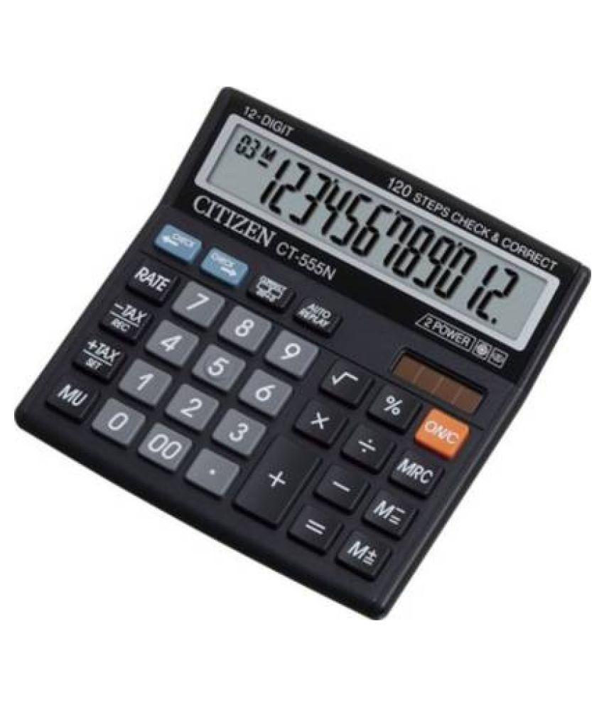 Citizen CT 555 N CT 555N Basic Calculator  (12 Digit)