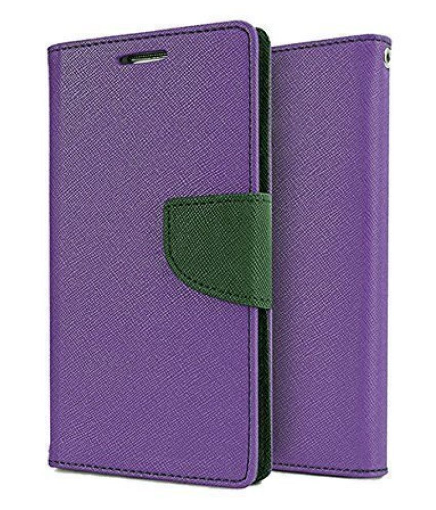 Asus Zenfone 2 Laser 5.5 Flip Cover by peezer   Purple
