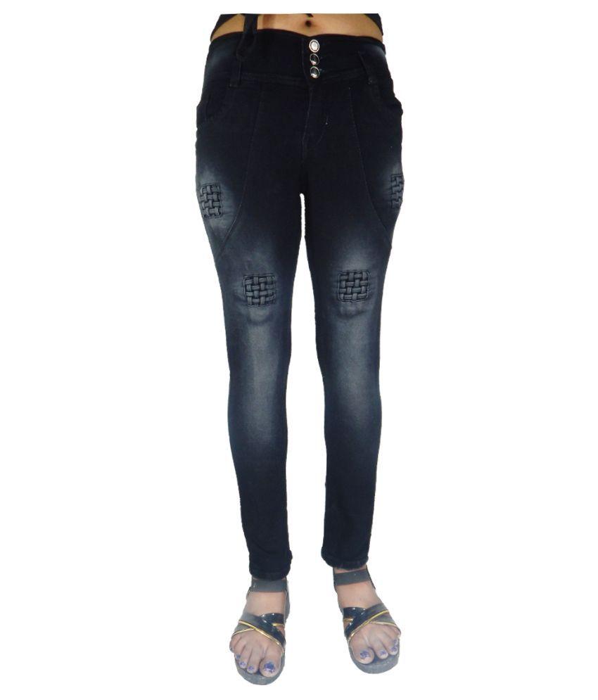 Martina jeans collection Denim Jeans - Black
