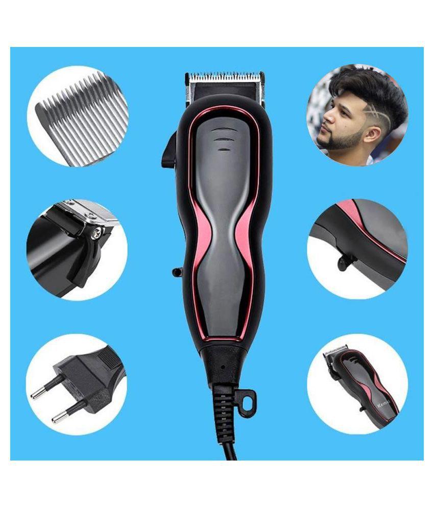 Corded Men's Electric hair Trimmer hair cutting haircut most power full motor use for home,Saloon beard trimmer men Hair Clipper 0 Cartridges