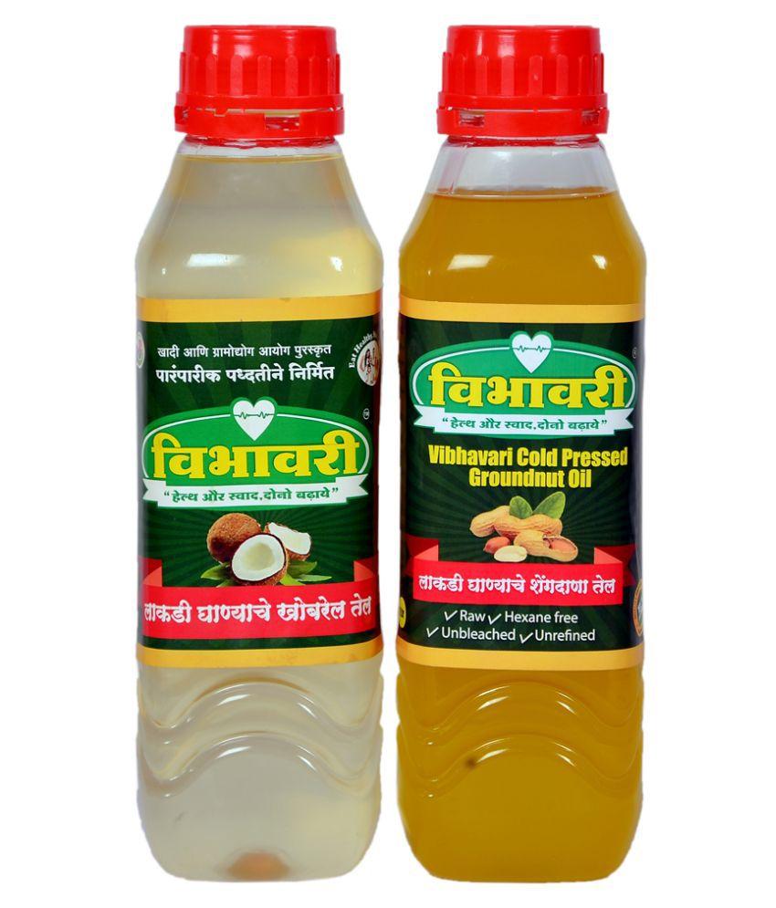 Vibhavari Seed oil 2 L Pack of 2