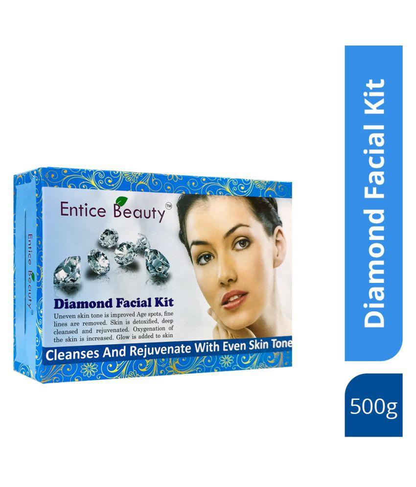 Entice Beauty Diamond Restores Skin Elasticity Facial Kit 450 g