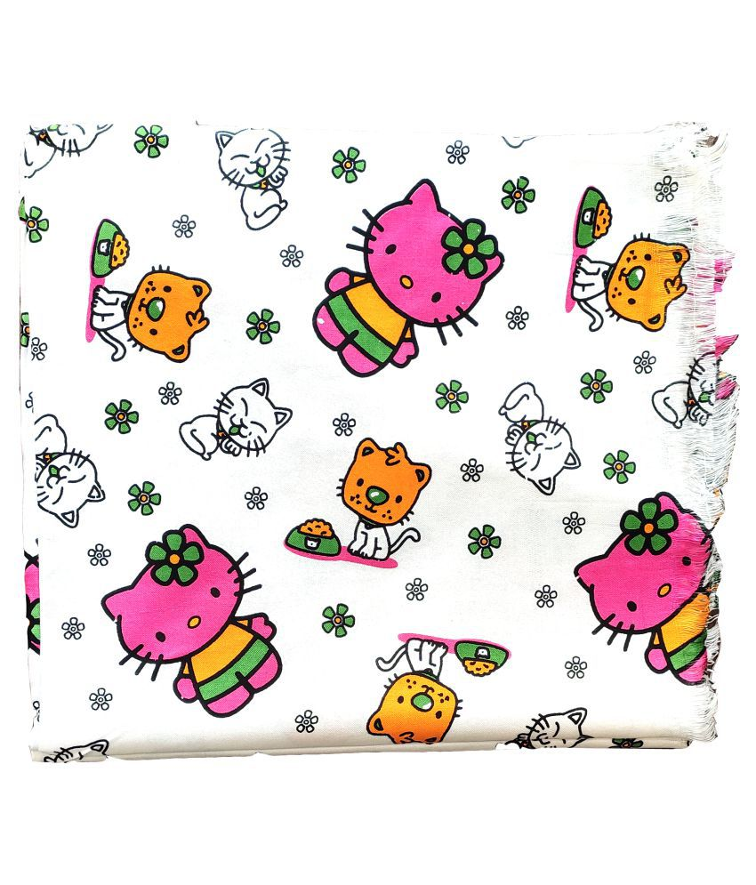 GreenTwish Single Cotton Printed Blanket