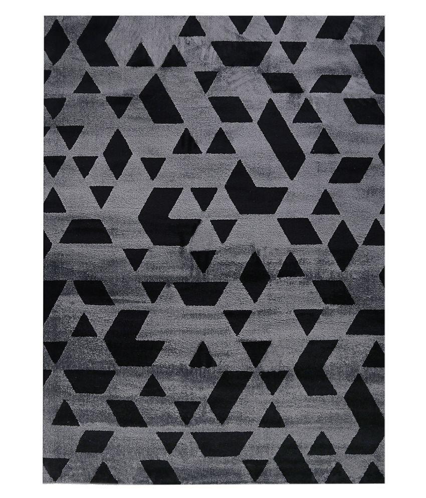 Obsessions Multi Polypropylene Carpet Geometrical 2x4 Ft