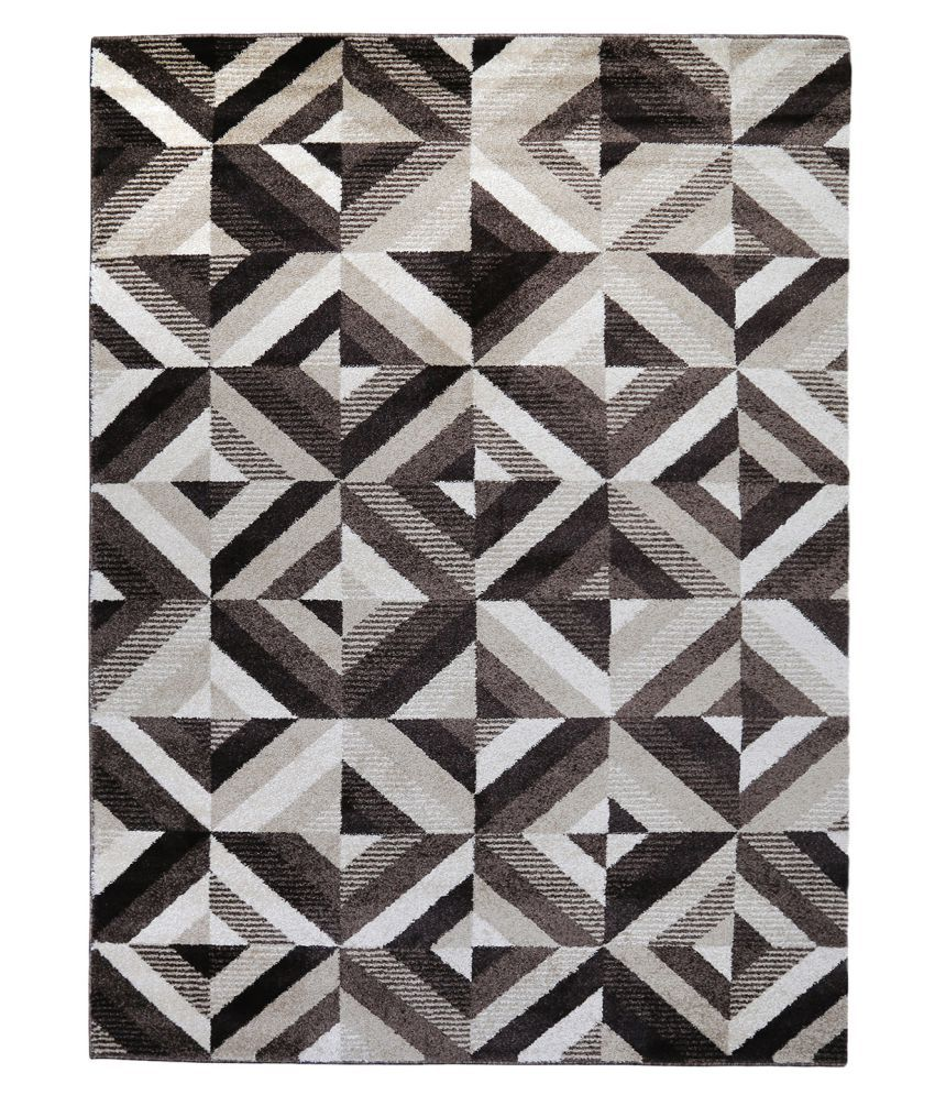 Obsessions Multi Polypropylene Carpet Geometrical 2x4 Ft