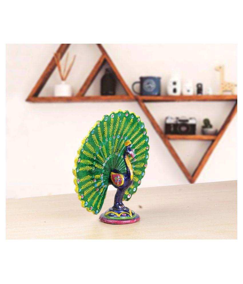 Fashion Art Multicolour Paper Mache Imitation Antiques - Pack of 3