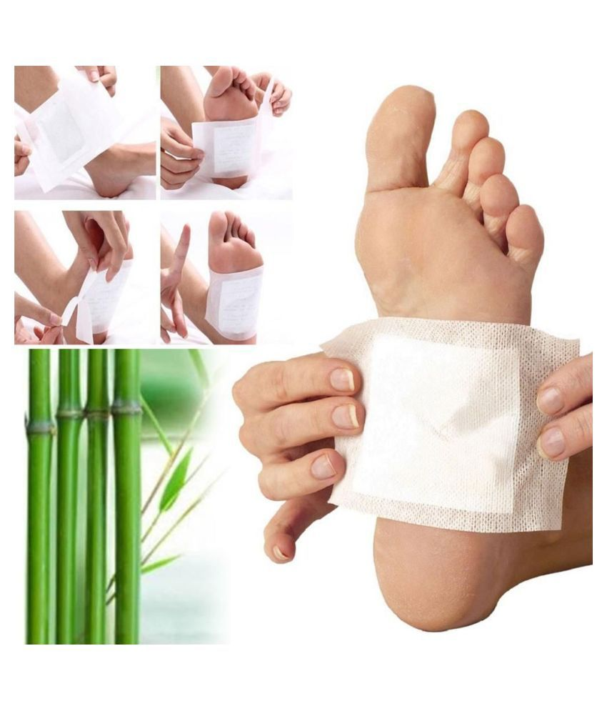 Kinoki Cleansing Toxin Dispelled Pads 10 Pcs Free Size, Foot Treatment