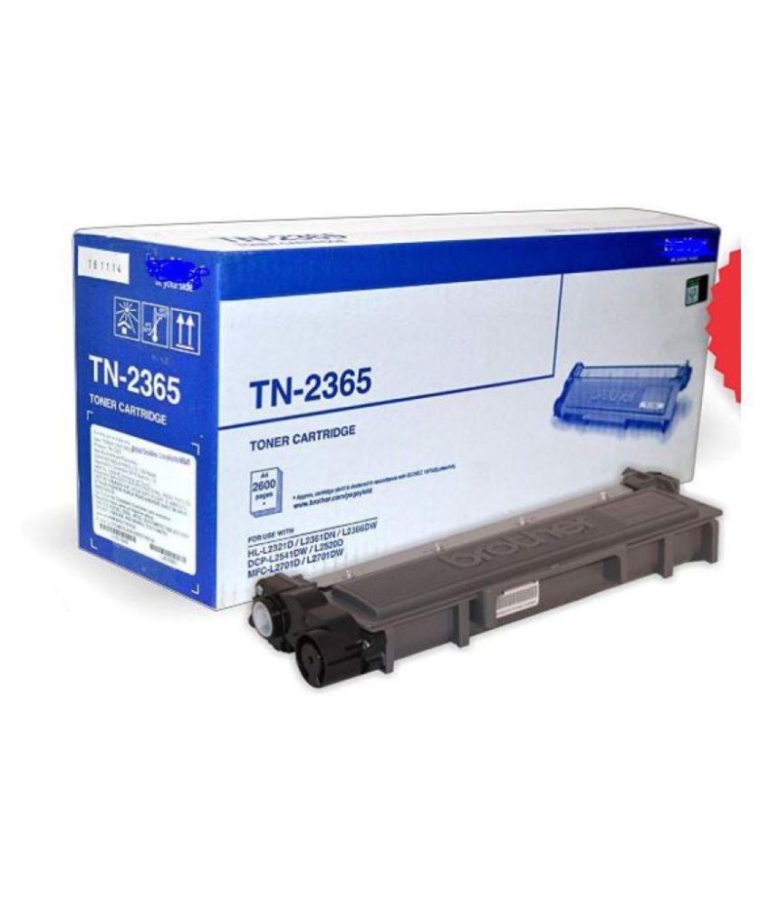 MHP TN 2365 Black Single Toner for Brother TN 2365 Toner Cartridge For Use HL L2321,L2365,L2380,L2360,DCP L2520,MFC L2703