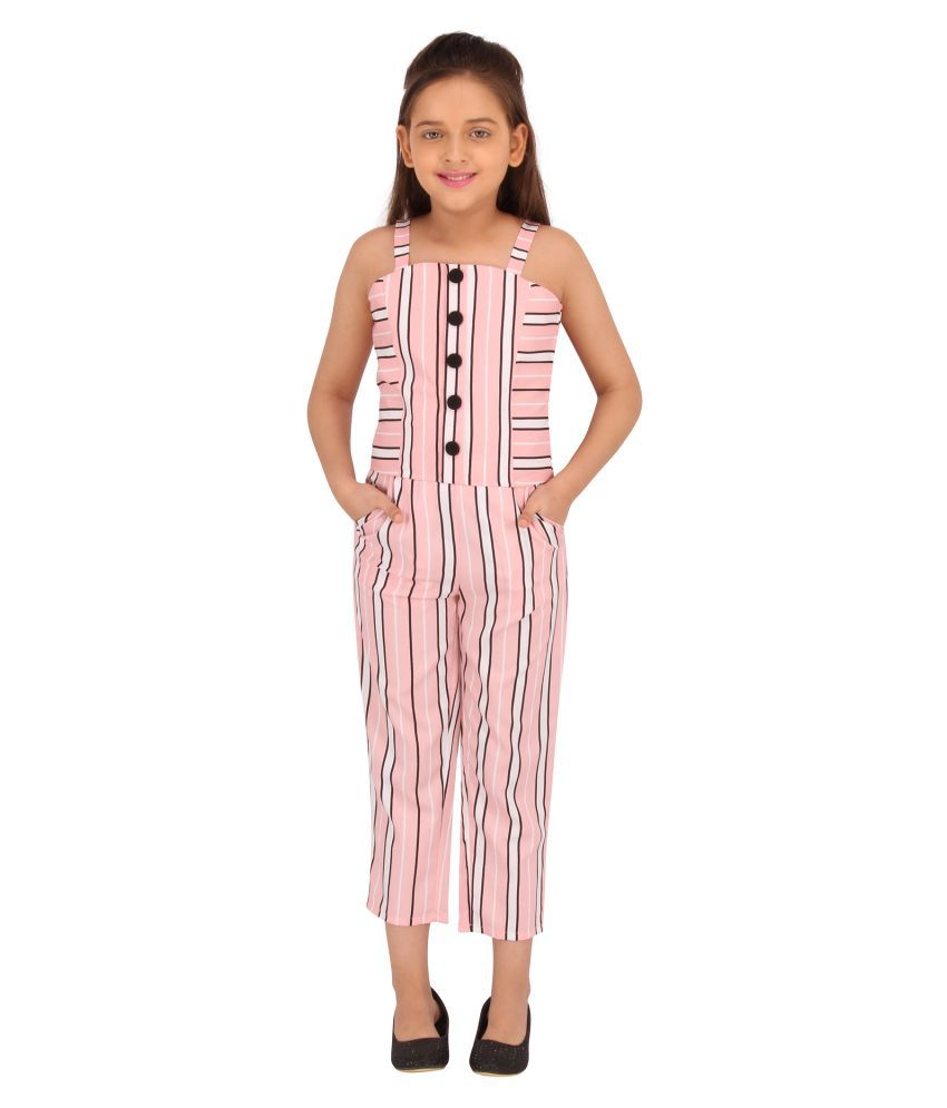 Smart casual Striped Top With Strip Culottes