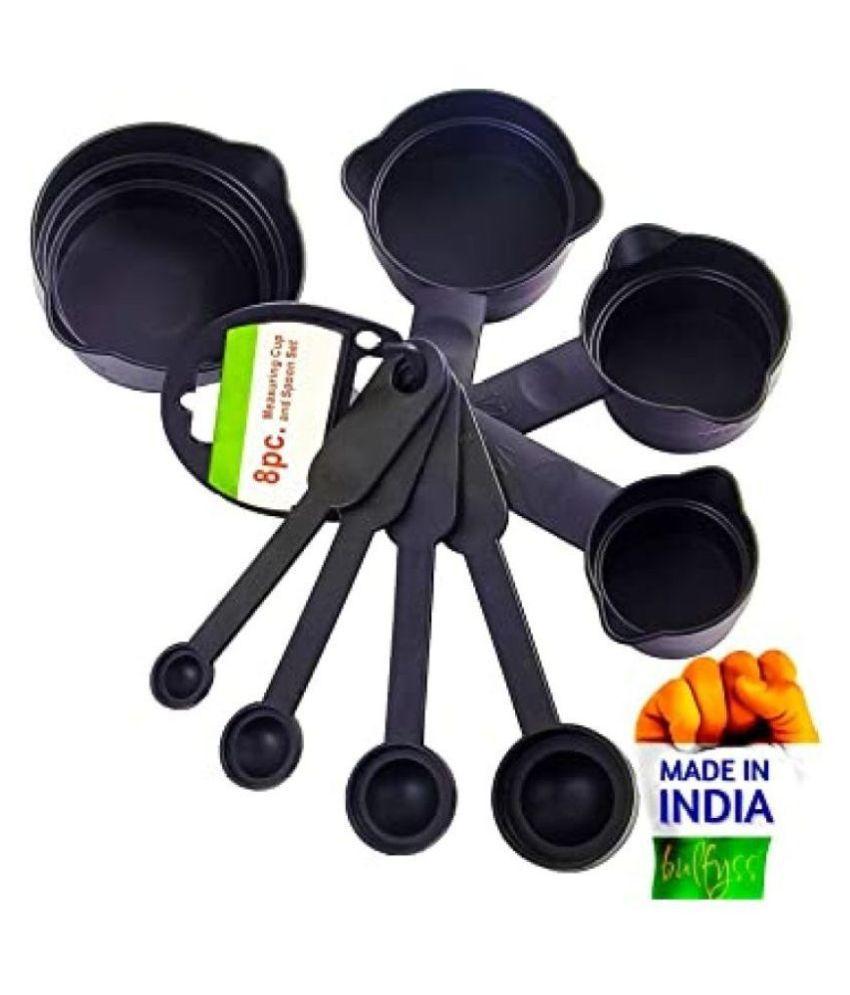 Global Enterprise Polypropylene (PP) Measuring Cups & Spoons Set