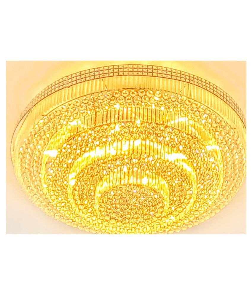 VISUAL COMFORT Crystal Pendant Yellow - Pack of 1