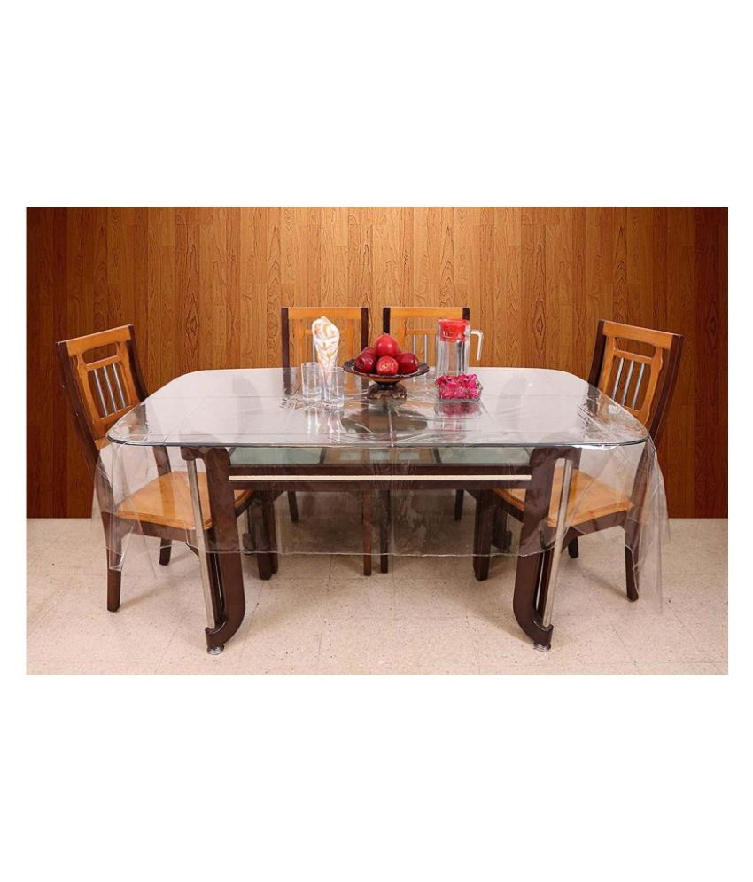 A&H 6 Seater Transparent PVC Single Table Covers