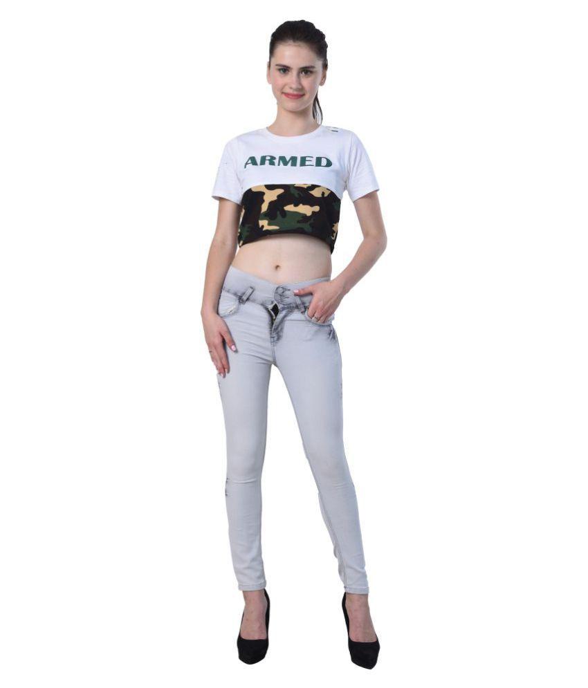 Essence Denim Jeans - Rust