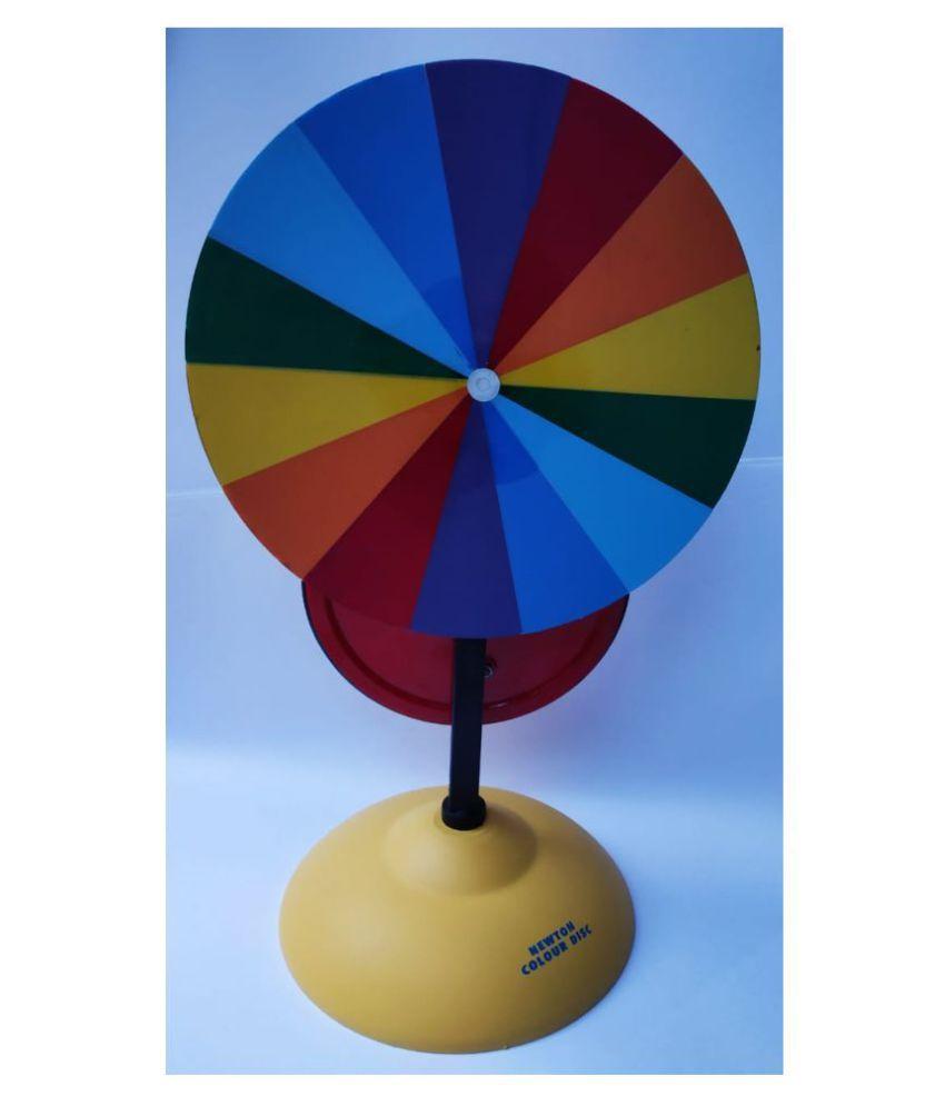 newton color disc model