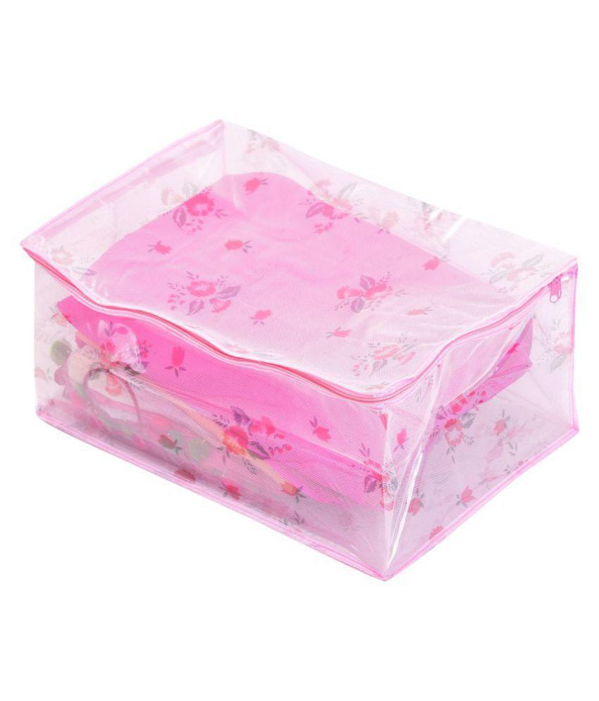 RAJA Pink Saree Covers - 1 Pc