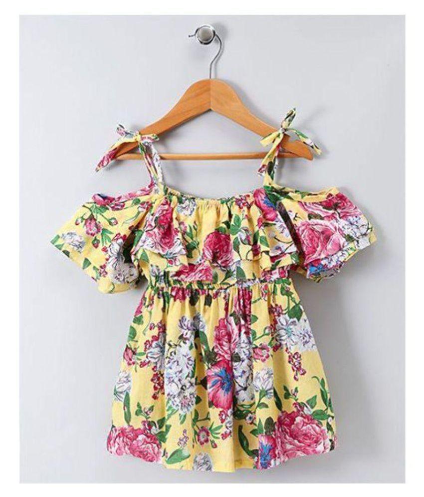 SPRING BUNNY - Toddler Girl 'Sping Time' Dress