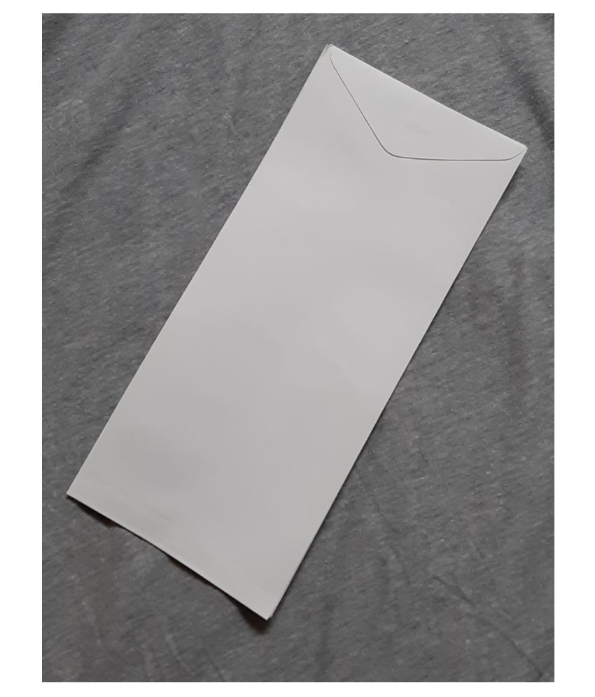 Athar White Business/Documents Envelopes [100 GSM] 9x4.5 Inches