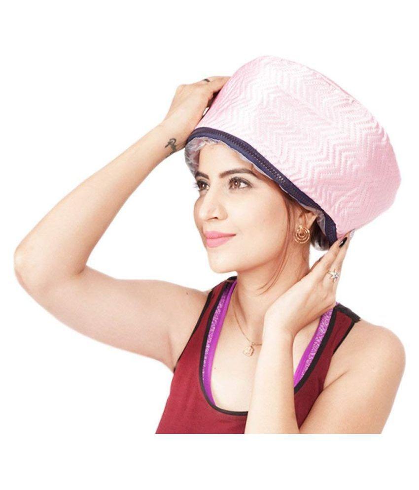 SHARUJA Hair Spa Cap Treatment with Beauty Steamer Nourishing Heating Steamer Cap