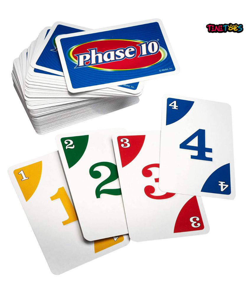 TiNiToeS Phase 10 Card Game 2 Sets