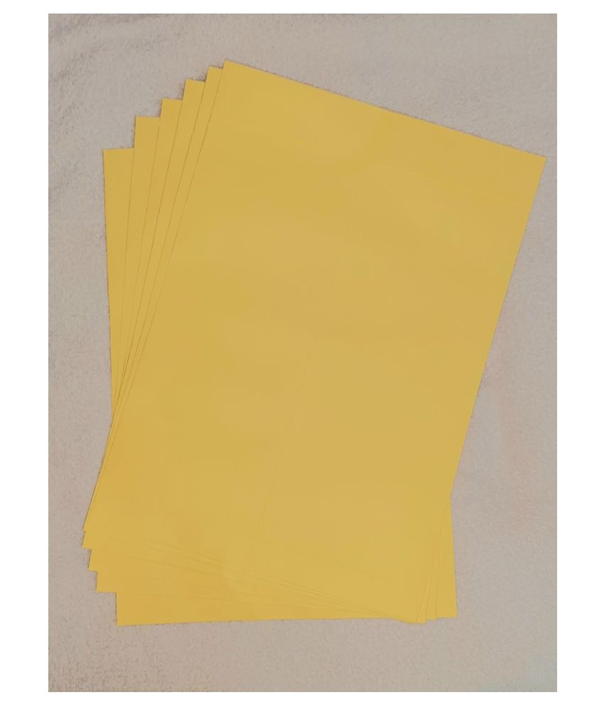 Athar Yellow Business/Documents Envelopes [100 GSM] 16x12 Inches