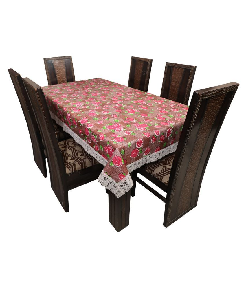 JMD Internatioanl 8 Seater PVC Single Table Covers