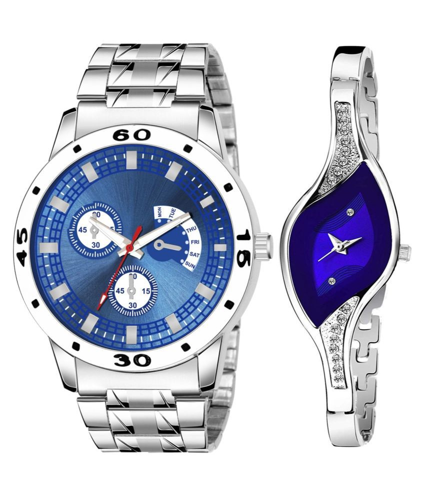 K56_922 NEW STYLISH FANCY DIAL WATCH FOR COUPLE