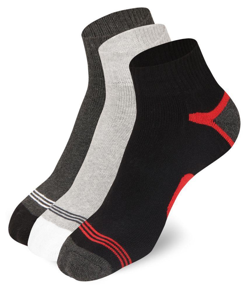 Merino Multi Sports Ankle Length Socks Pack of 3