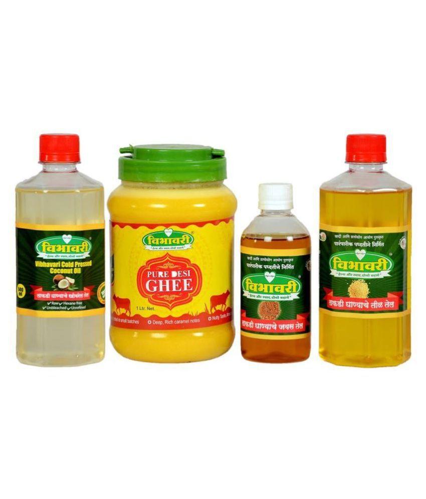 Vibhavari Seed oil 2.2 L Pack of 3