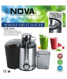 NOVA Whole Fruit Juicer 600 Watt Centrifugal Juicer