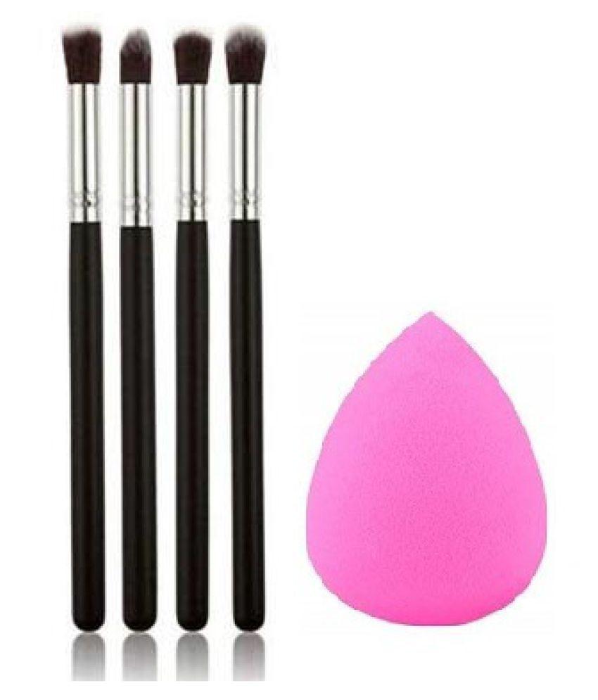 Lenon Beauty Sponge Puff  amp; Synthetic Blending Eye Shadow Brush 20 g