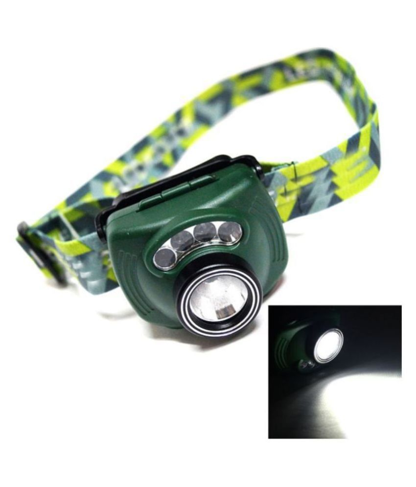 Motion PIR Sensor LED Headlamp Headlight Head lamp light Torch Flashlight
