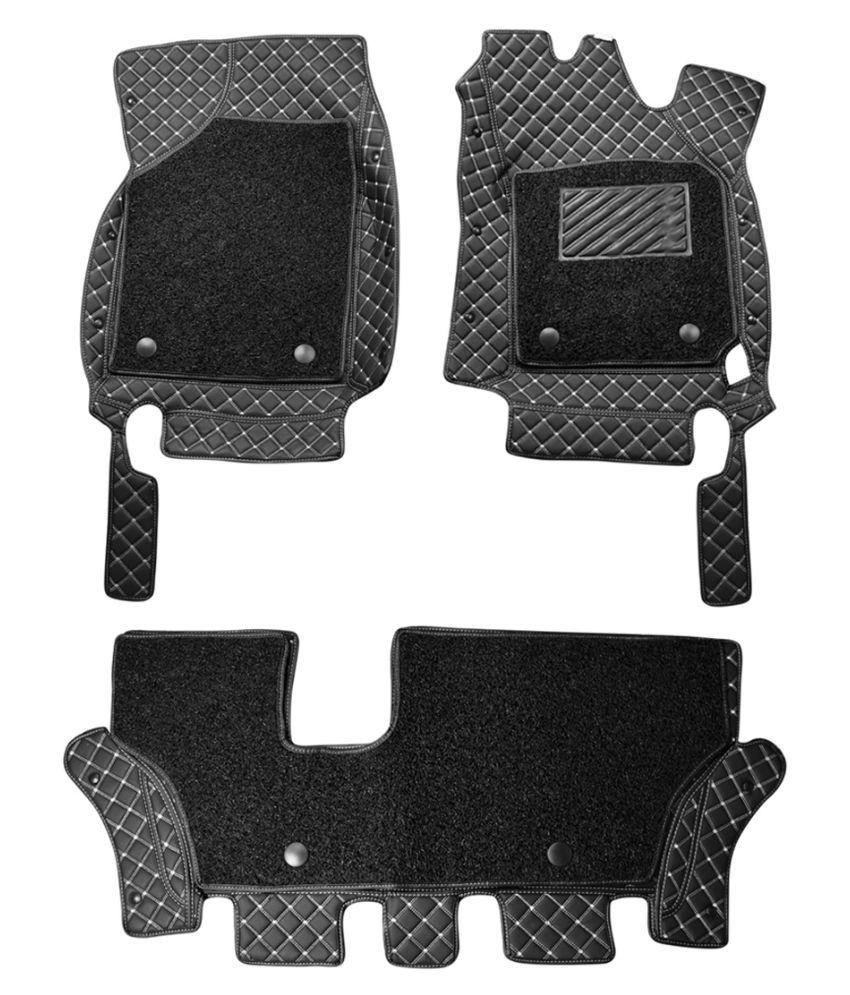 WIINE Leatherite 7D Car Mats For Isuzu D-MAX (Grey)