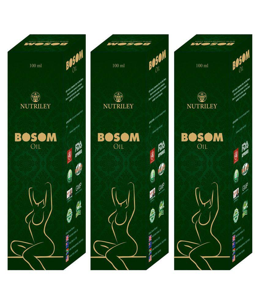 Bosom Breast Tighten Oil for Women (100 ML x 3)