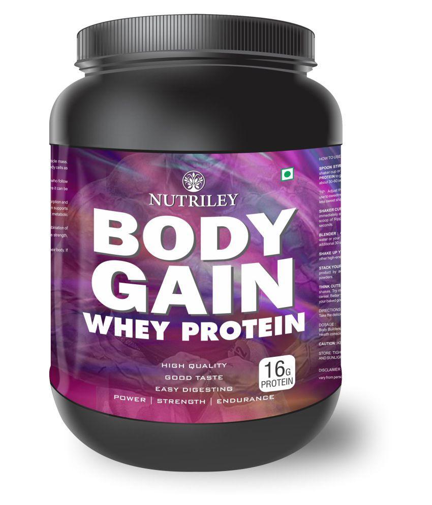 CRD Ayurveda Body Gain-Whey Protein (500 Gms)-Kesar Pista Badam 1 gm