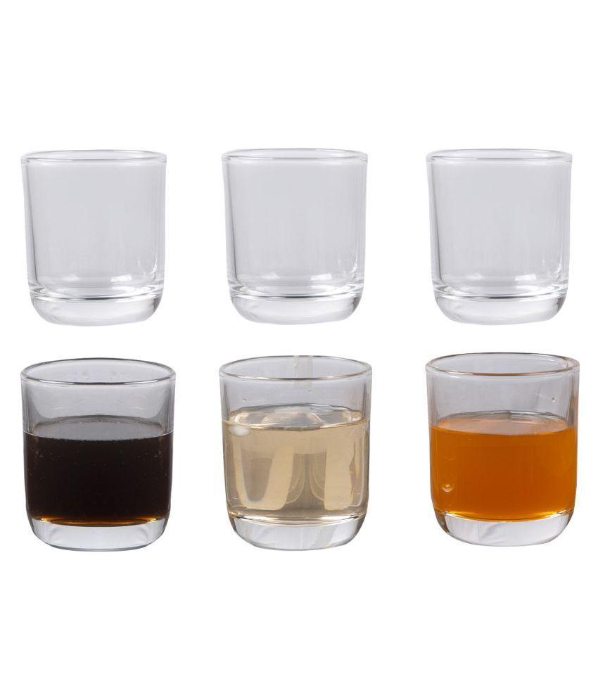 EternityHome Glass & Vitrelle 285 ML ml Whiskey Glasses