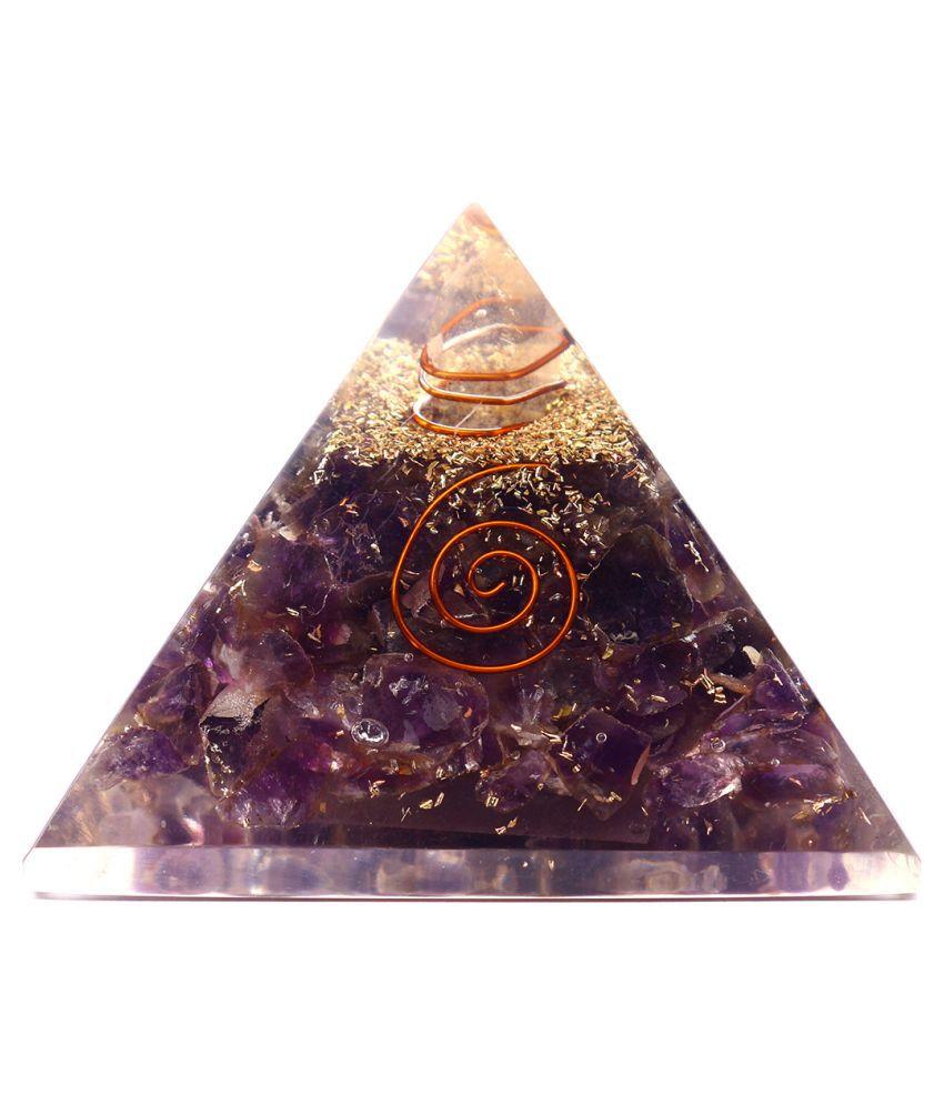 J & J GEMS Purple Onyx Stone Handicraft Showpiece - Pack of 1