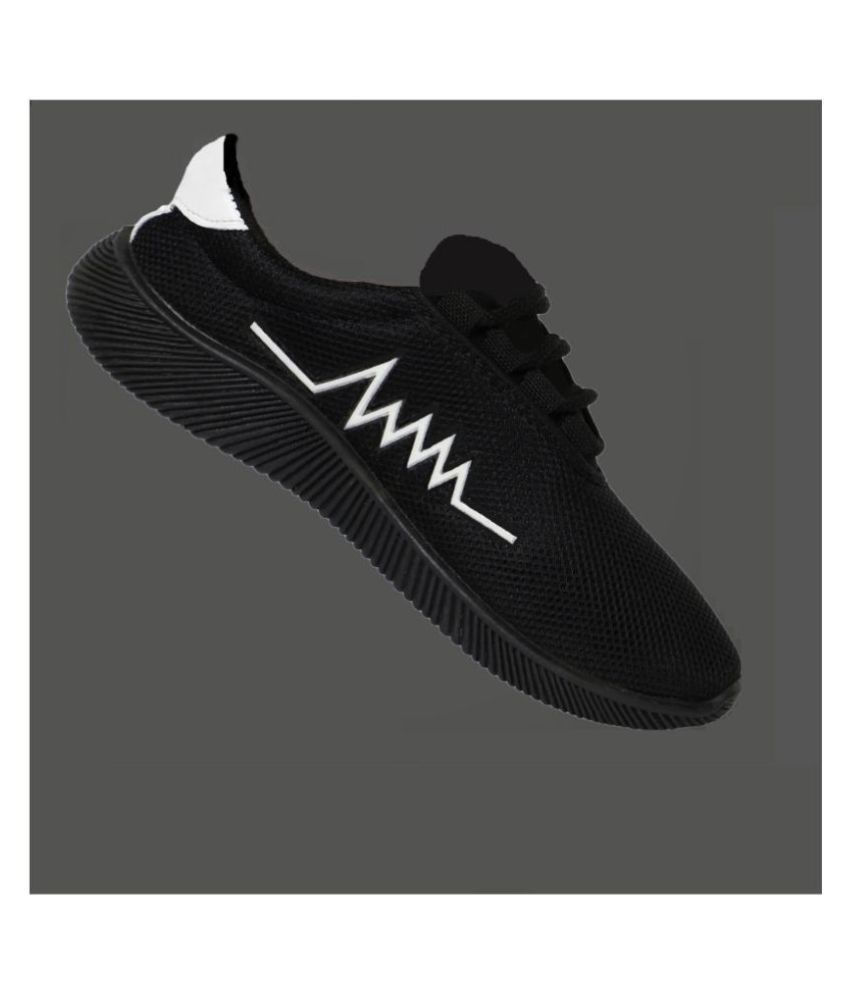 Treadfit Sneakers Black Casual Shoes