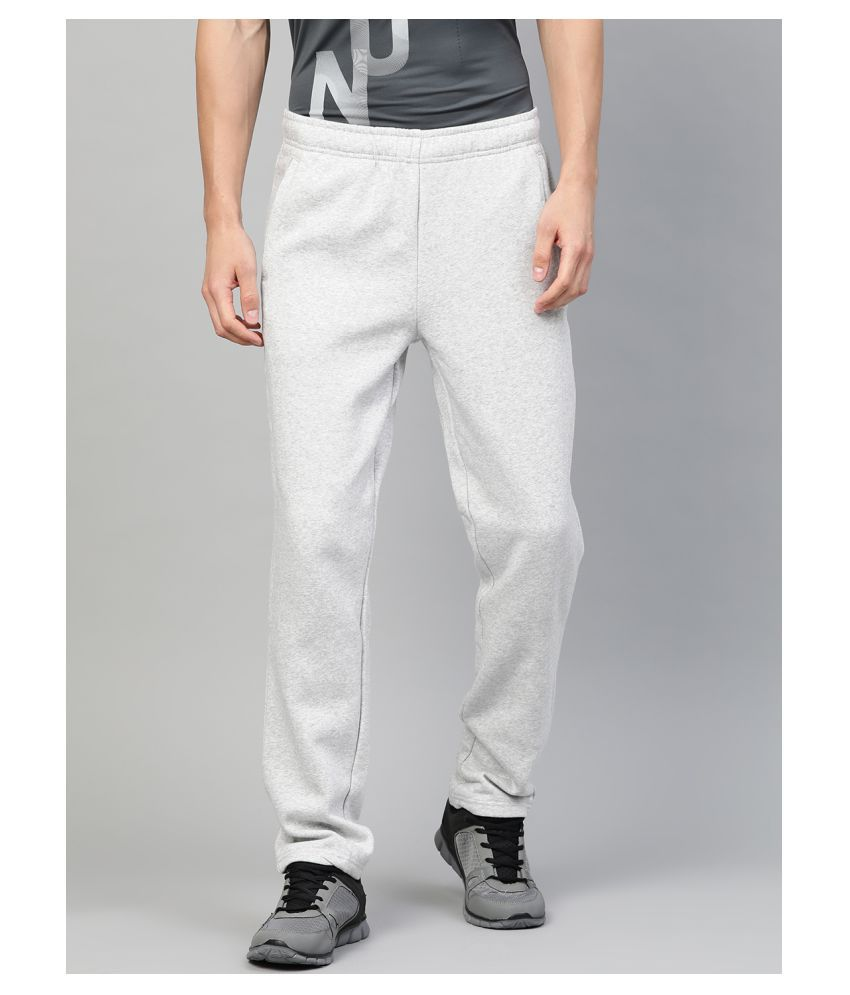Alcis Grey Cotton Trackpants