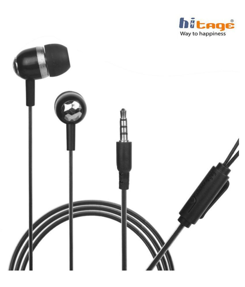 hitage HP 768 Viv_o 0PP0 Mi Samsung Xiaomi In Ear Wired With Mic Headphones/Earphones