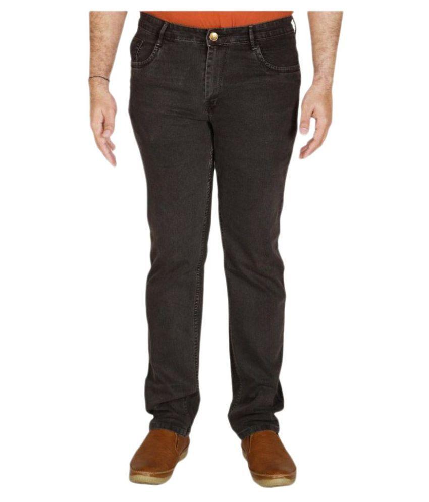 PRANKSTER Grey Regular Fit Jeans