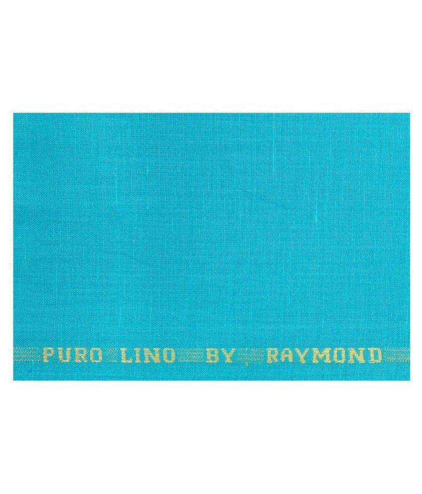 Raymond Blue Linen Unstitched Shirt pc