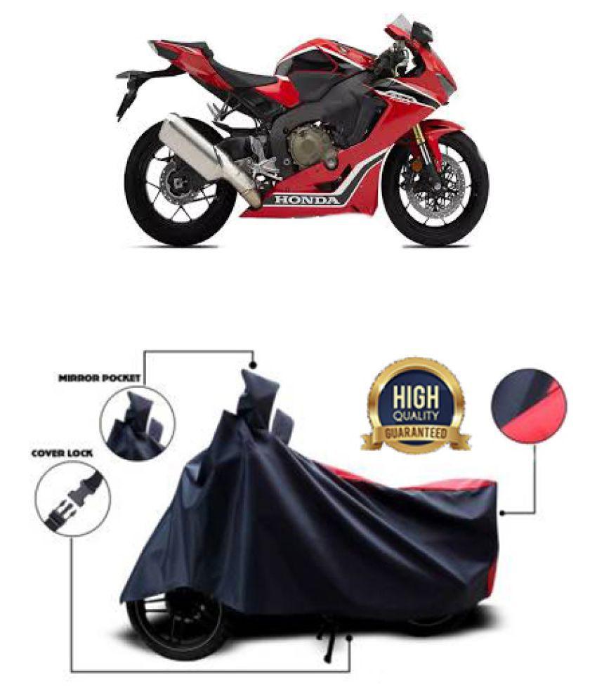 QualityBeast two wheeler cover for Honda CBR 1000RR (Red, Black)
